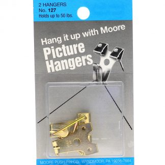 Picture Hangers up to 50 lbs. pack of 2