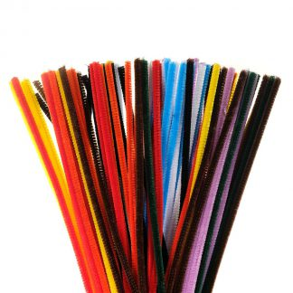 Chenille Stems 6 mm x 12 in. 100 pieces assorted