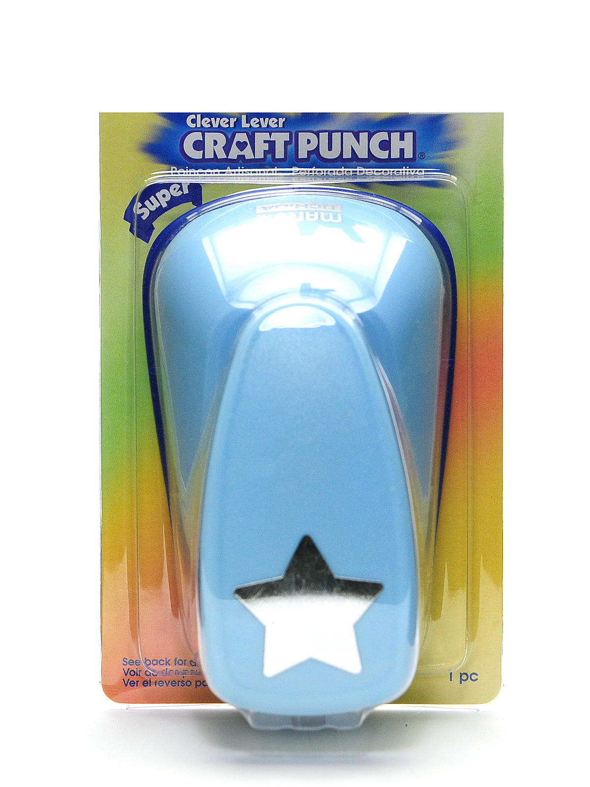 Clever Lever Super Jumbo Craft Punch star