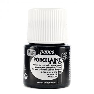 Porcelaine 150 China Paint anthracite black 45 ml